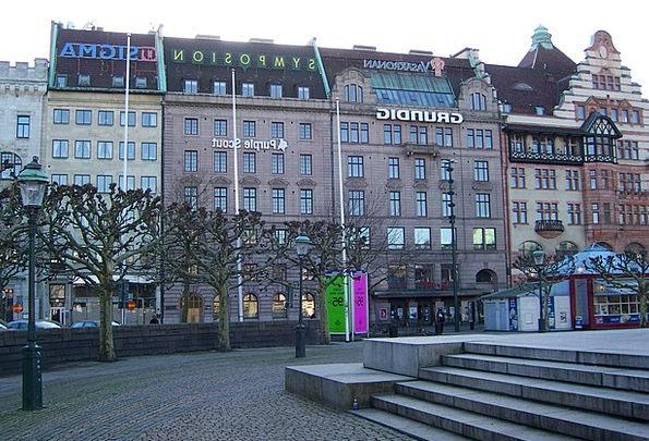 Malmo Buildings Architecture Sweden Malmö Skane Sv