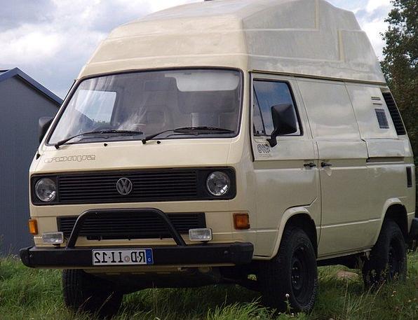 Vw Bus Camper Vacationer Volkswagen Camping Bus Sy
