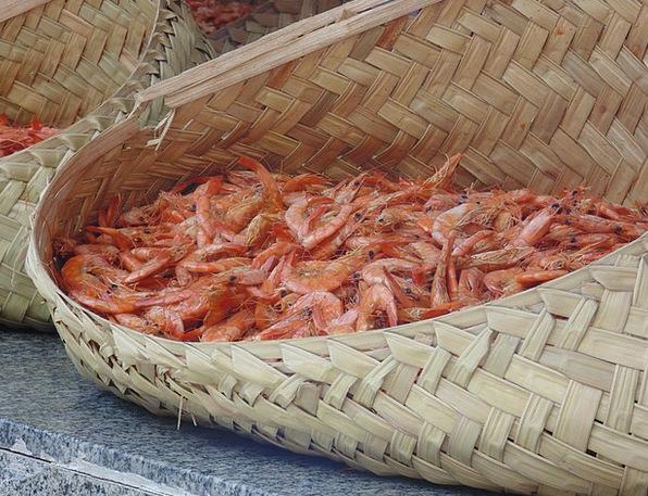 Shrimp Brazil Typical Food Maranhão São Luís