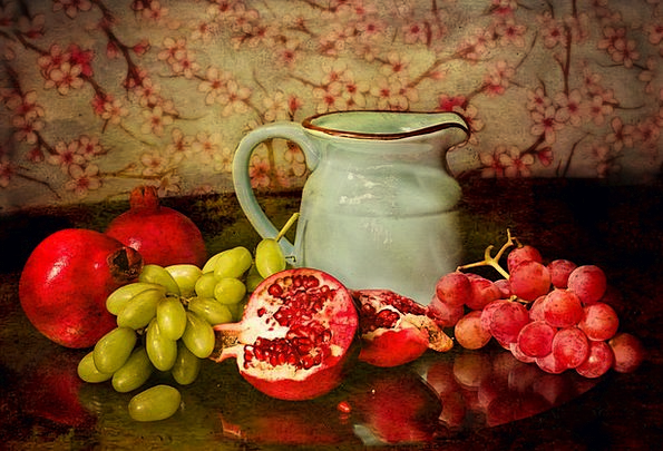 Fruits Ovaries Drink Food Pitcher Jug Still-Life F