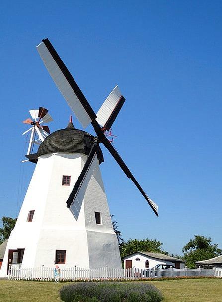 Windmill Grinder Bornholm Mill Denmark