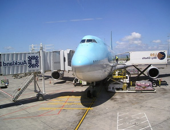 New Zealand Korean Air Korea Aircraft Airplane Boi