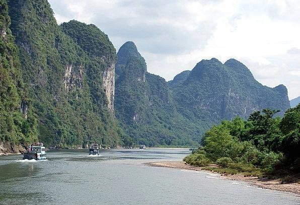 River Stream Landscapes Trip Nature Boat Ship Tour