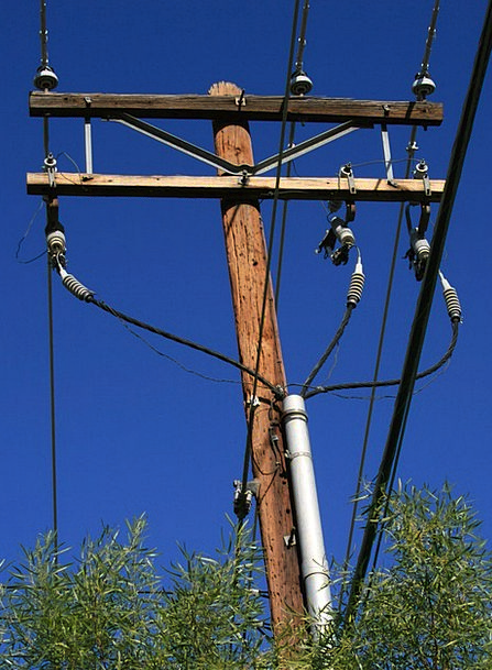 Power Control Opposite Electricity Pole Electric E