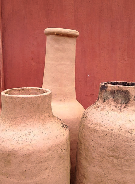 Crafts Skills Brazil Minas Clay Earthen Pots Vesse