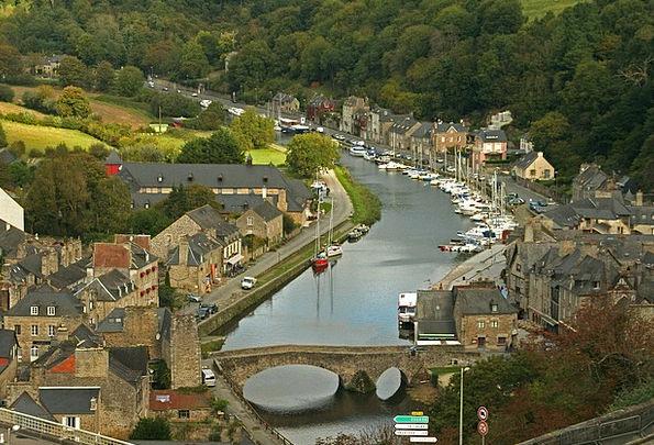 Dinan Port Harbor France Brittany