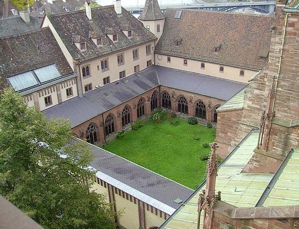 Munster Cloister Germany Landmark Grass Church Law