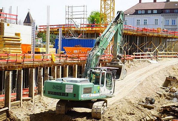 Site Place Diggers Construction Vehicle Excavators