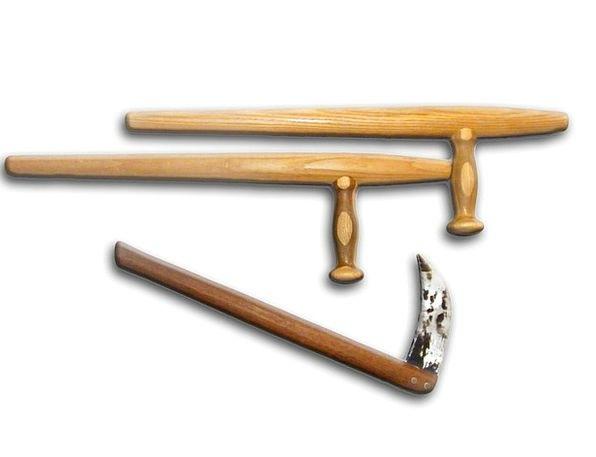 Tonfa Arms Naginata Weapons Martial Arts