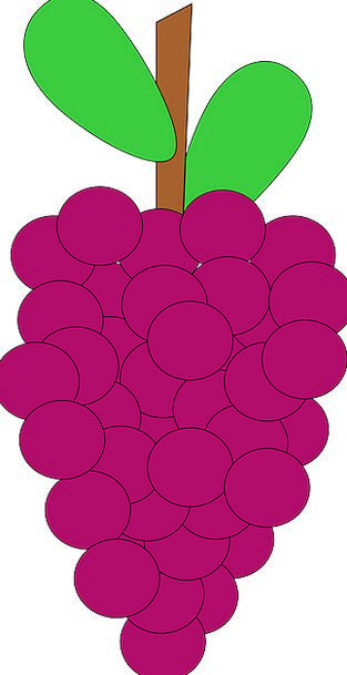 Grapes Group Ripe Ready Bunch Free Vector Graphics