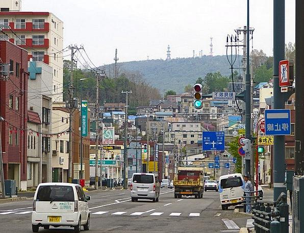 Japan Traffic Transportation Road Street Otaru Tra
