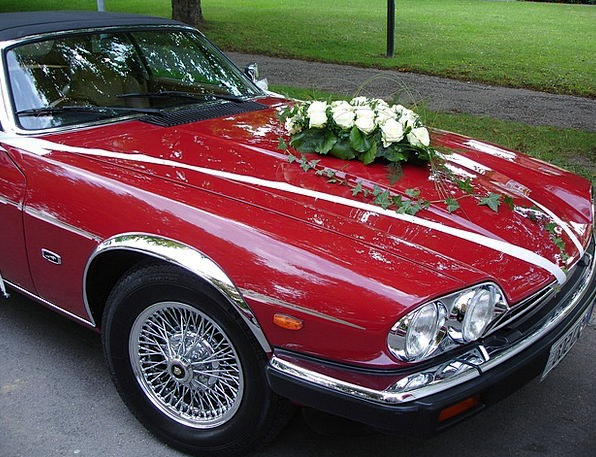 Wedding Car Bridal Auto Car Wedding Sports Car Cel