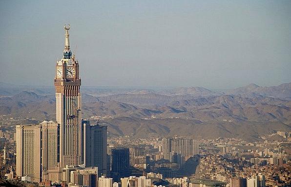 Mecca Center Saudi Arabia Mekkah Minaret Saudi Isl