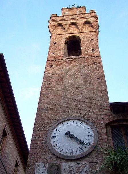 Torre Buildings Timepiece Architecture Architectur