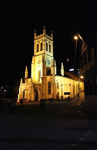 Church Ecclesiastical Himachal Shimla India Nature