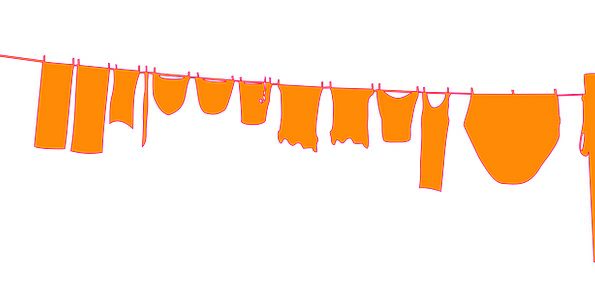 Clothes Line Opposites Clothing Sartorial Poles Fr