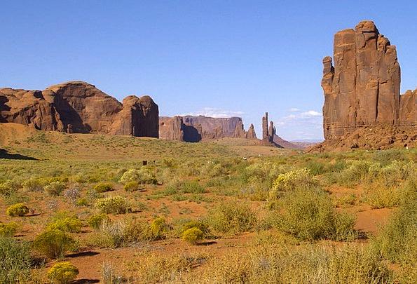Graceful Elegant Landscapes Nature Utah Monument V