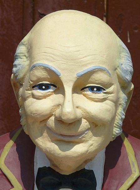 Man Gentleman Old Ancient Mr Fig Face Portrait Exp