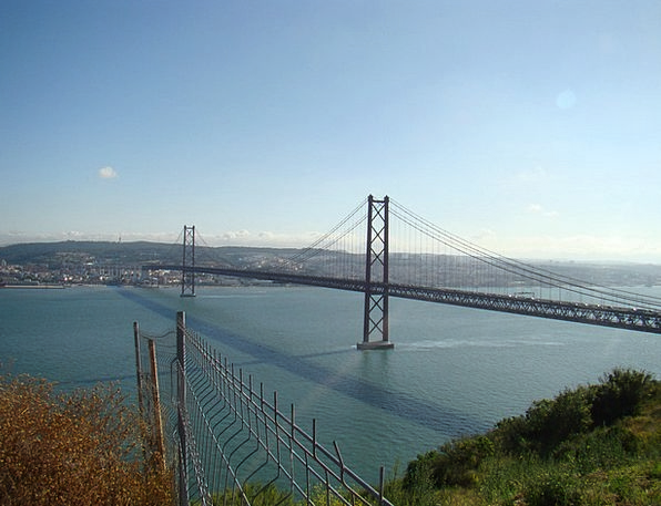 25Th Of April Bridge Lisbon Portugal