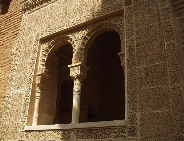 Alhambra Buildings Architecture Old Ancient Spain
