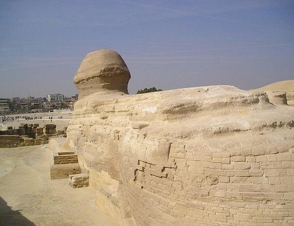 Egypt Egyptians Sphinx Gizeh Culture Grave Ethos W
