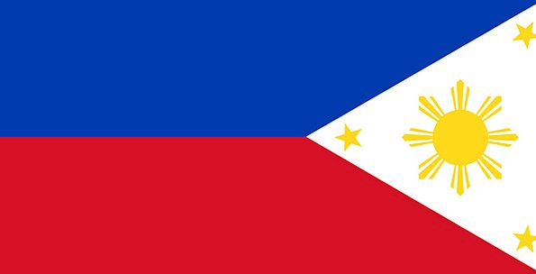 Philippines Standard Country Republic Flag Nation
