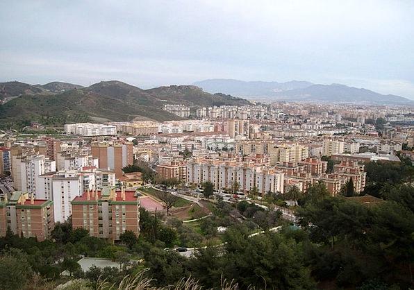 Spain Costa Del Sol Malaga Big City Port City Sea