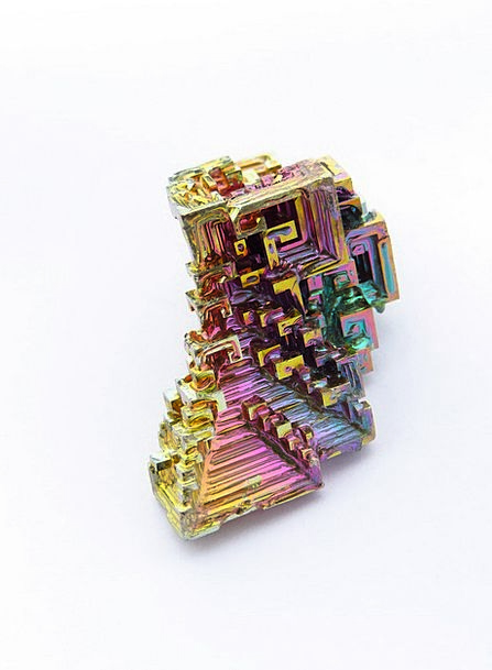 Mineral Inorganic Shimmering Bismuth Iridescent Co