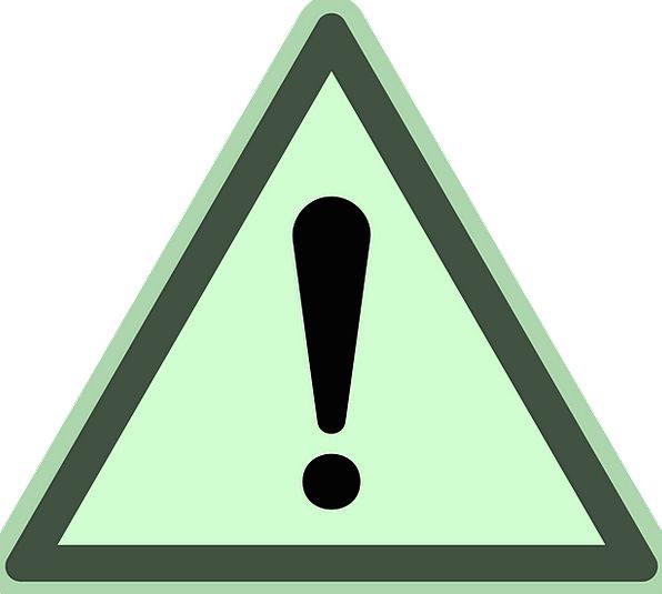 Danger Hazard Shout Warning Sign Sign Exclamation