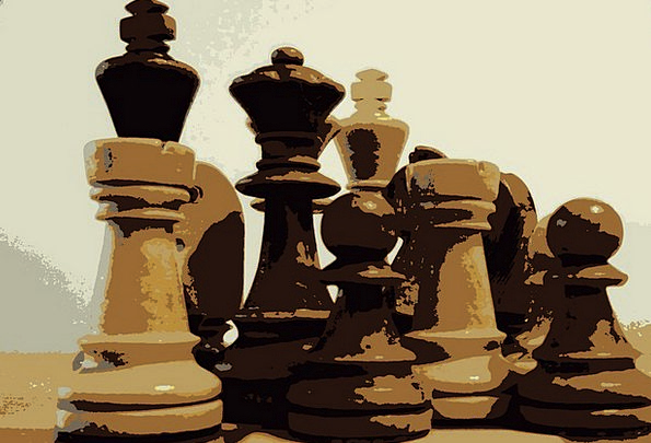 Chess Sound Separation Chess Pieces King Monarch F