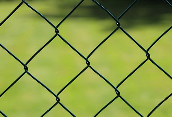 Wire Mesh Fence Barrier Wire Cable Fence Green Lim