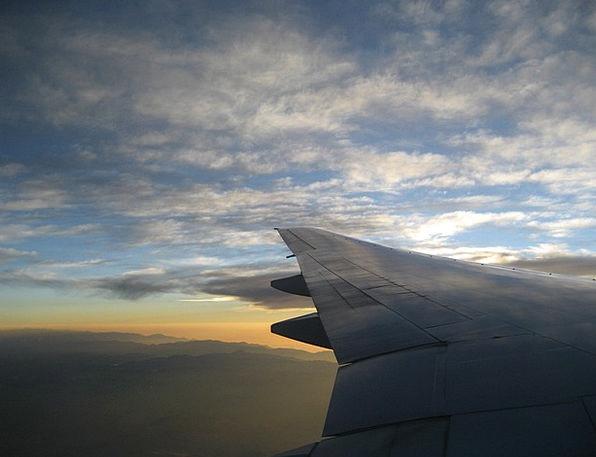 Flight Aeronautical Airplane Sky Blue Aircraft
