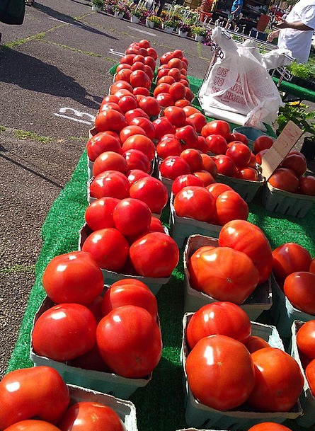 Tomatoes Drink Agriculturalists Food Market Market
