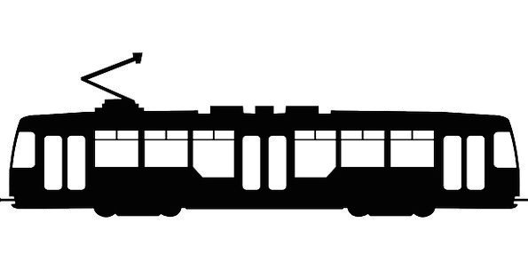 Streetcar Cable Car Tram Trolley Rail Tramcar Trol