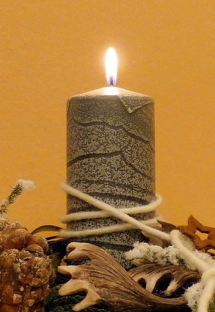 Candle Taper Preparation Advent Arrival Arrangemen