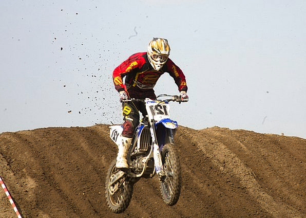 Motocross Scrambling Motorbike Sand Shingle Motorc