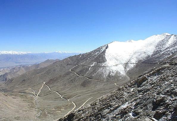 Leh Pass Permit Khardung La Pass Road Ladakh Highe
