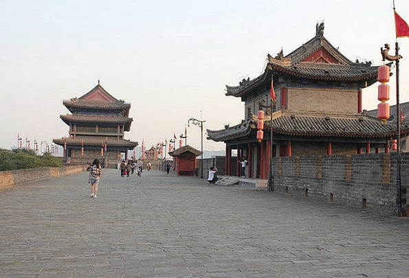 The Ancient Capital Chinese Culture Xi'An The City