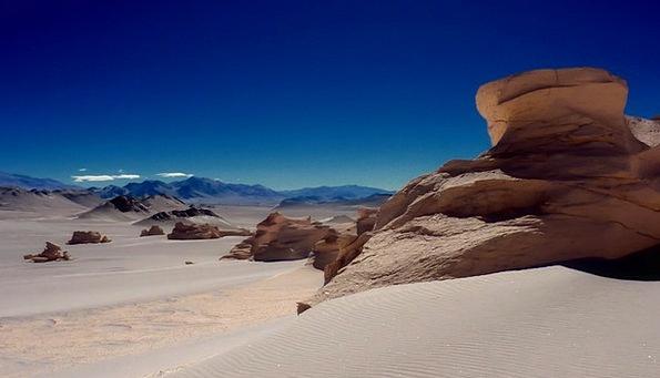 Dessert Pudding Thirsty Dunes Banks Dry Chile Sand