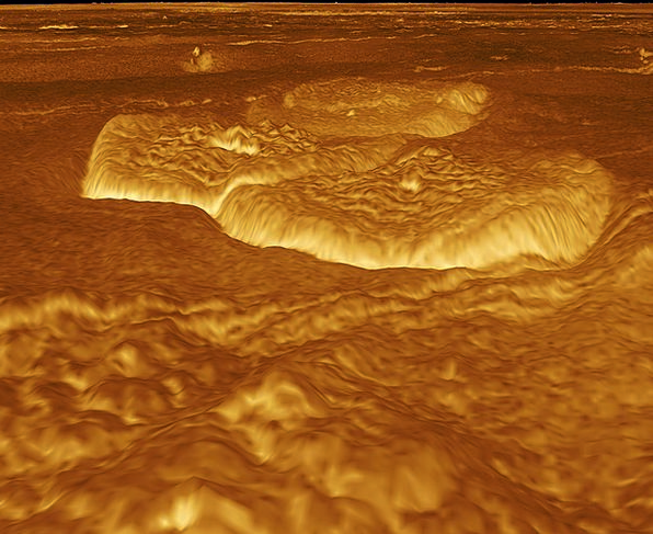 Venus Earth Surface Superficial Planet Space Inter