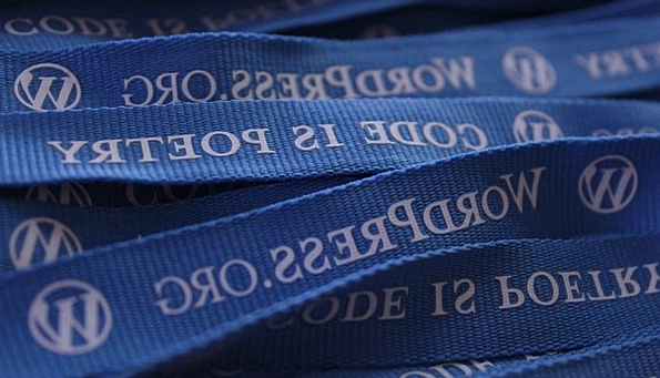 Wordpress Ropes Blog Lanyards Blogging Blue Logo S