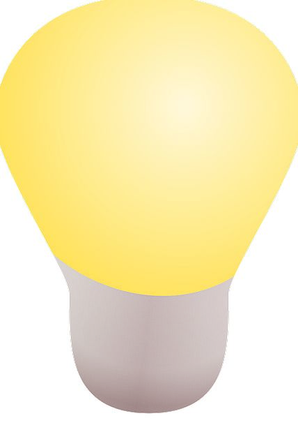 Lightbulb Impression Symbol Sign Idea Energy Inven