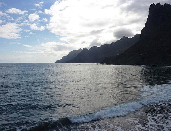 Tenerife Vacation Seashore Travel Anaga Beach Cana