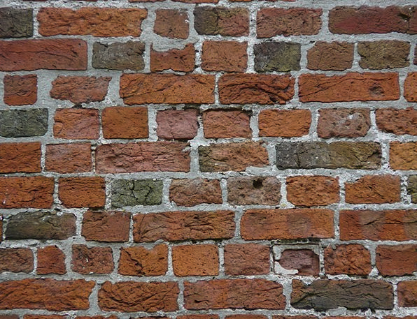 Wall Partition Brick Element Brick Wall Red Bloods