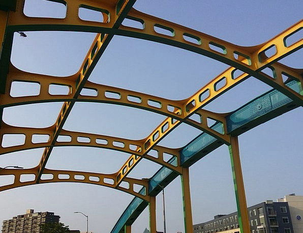 Bridge Bond Buildings Architecture City Architectu