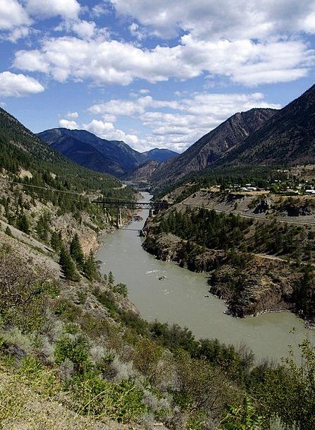 Fraser Landscapes Stream Nature Fraser River River