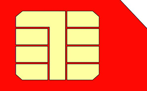 Sim Mobile Movable Sim Card Cellphone Free Vector
