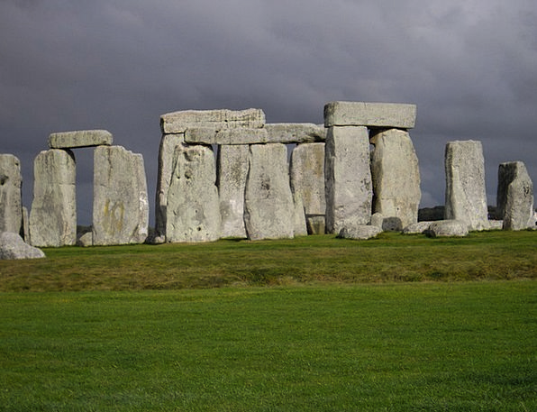 Stonehenge Gravels Monolith Megalith Stones Magic