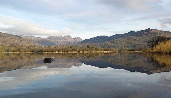 Lake Freshwater Landscapes Nature Landscape Scener
