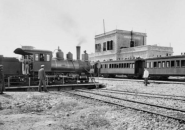 Locomotive Train Railway Station Steam Locomotive